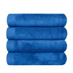 SCANquilt ručník MODAL SOFT stř. modrá