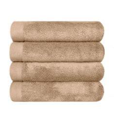 SCANquilt ručník MODAL SOFT béžová