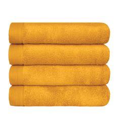 SCANquilt ručník MODAL SOFT zlatá