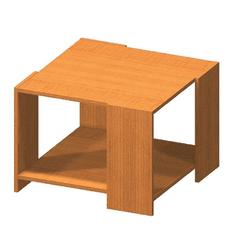 TEMPO KONDELA Konferenčný stolík, čerešňa, TEMPO ASISTENT NEW 026