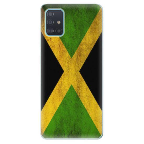 iSaprio Silikónové puzdro - Flag of Jamaica pre Samsung Galaxy A51