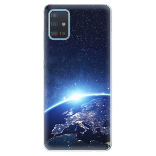 iSaprio Silikónové puzdro - Earth at Night pre Samsung Galaxy A51