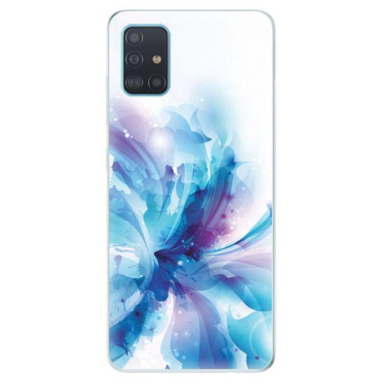 iSaprio Silikónové puzdro - Abstract Flower pre Samsung Galaxy A51