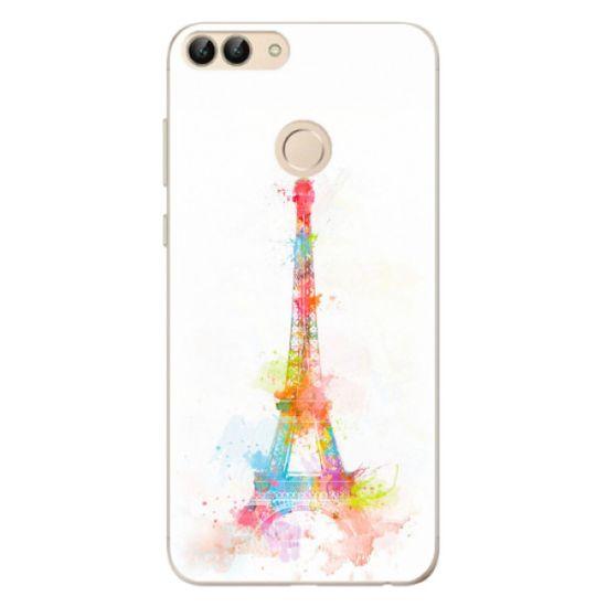 iSaprio Silikónové puzdro - Eiffel Tower pre Huawei P Smart