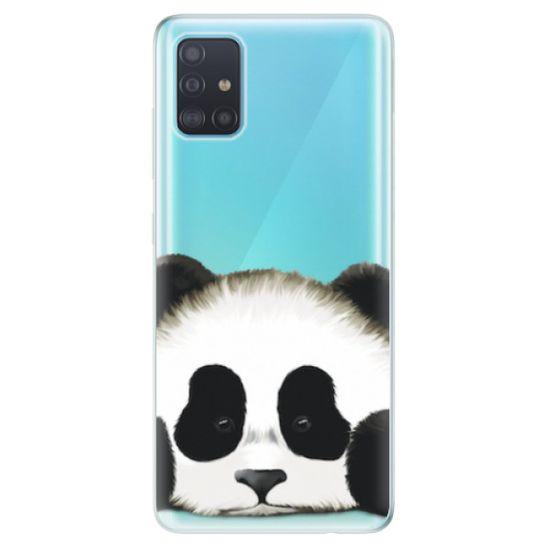 iSaprio Silikonové pouzdro - Sad Panda pro Samsung Galaxy A51