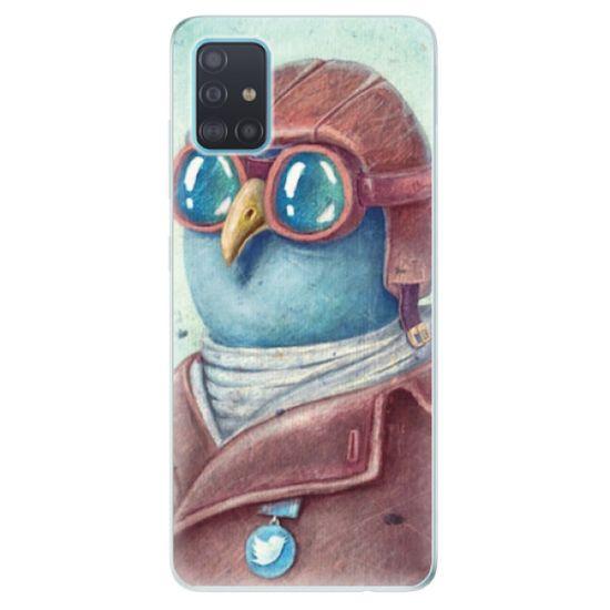 iSaprio Silikónové puzdro - Pilot twitter pre Samsung Galaxy A51