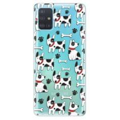 iSaprio Silikonové pouzdro - Dog 02 pro Samsung Galaxy A51
