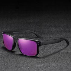 KDEAM Trenton 3 sluneční brýle, Black / Purple