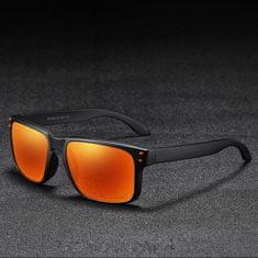 KDEAM Trenton 4 slnečné okuliare, Black / Orange