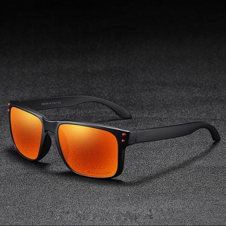 KDEAM Trenton 4 napszemüveg, Black / Orange