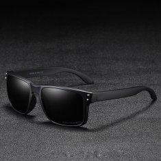 KDEAM Trenton 1 slnečné okuliare, Black / Black