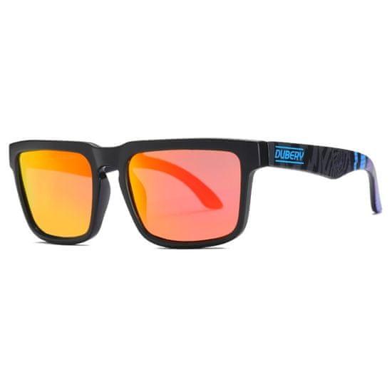 Dubery Greenfield 4 slnečné okuliare, Blue & Black / Black
