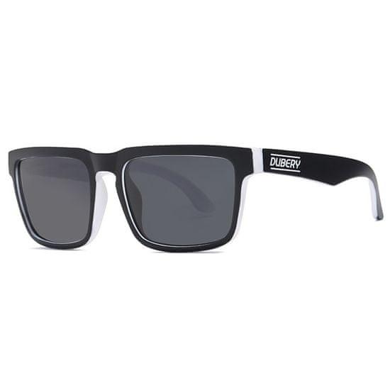 Dubery Greenfield 8 slnečné okuliare, Black & Black / Black
