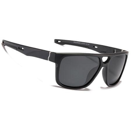 KDEAM Malden 1 napszemüveg, Black / Black