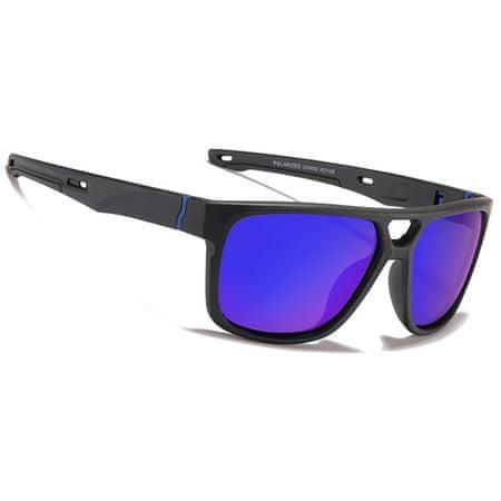 KDEAM Malden 3 napszemüveg, Black / Blue