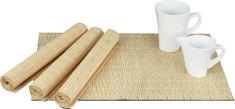 ART Prostírání bambusové, sada 4ks. Barva Přírodní. DK5043 Art