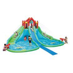 Happy Hop GIGANT vodní zábavný park s obřími skluzavkami, skákací nafukovací hrad