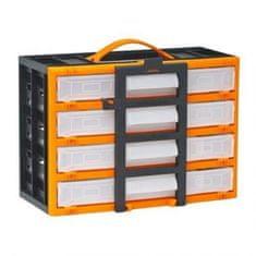 Handy Prenosni organizator za drobni elektromaterial s predalčki – 310 x 165 x 220 mm