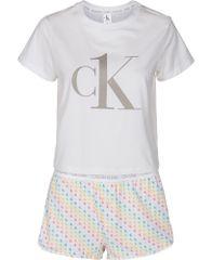 Calvin Klein dámské pyžamo QS6443E S/S Short Set