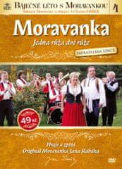 Moravanka: Jedna růža dvě růže - DVD