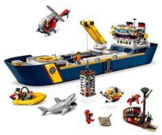 LEGO City 60266 Óceáni felderítő hajó