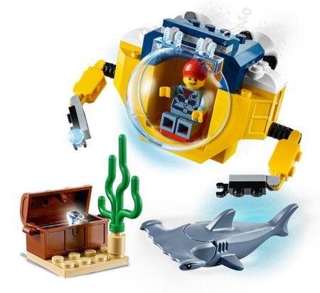 LEGO City 60263 Óceáni mini tengeralattjáró
