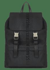 Trussardi Jeans férfi hátizsák, fekete 71B00184-9Y099999
