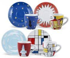 BIALETTI Y0TZ040 4 ARTE CUPS Készlet