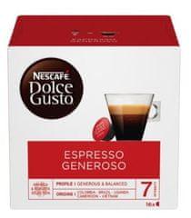 NESCAFÉ kapsule za kavu Dolce Gusto Espresso Generoso, trostruko pakiranje