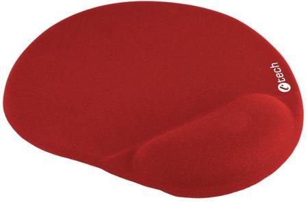C-Tech podkładka ergonomiczna pod mysz, czerwona (MPG-03R)