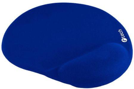 C-Tech ergonomikus egérpad, kék (MPG-03B)