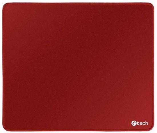 C-Tech podložka pod myš, červená (MP-01R)