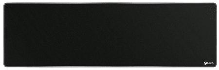 C-Tech egérpad és billentyűzet alátét, fekete (MP-01XL-BK)