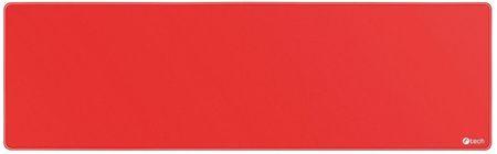 C-Tech egérpad és billentyűzet alátét, piros (MP-01XL-R)