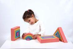 TickIt Set Duha (4 tvary) / Rainbow Architect Set
