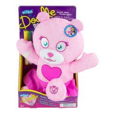 Tomy Doodle Bear modna medvedka, roza
