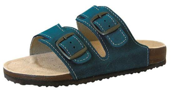 Protetika dámske papuče T16, 38, tyrkysová