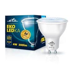 ETA LED žarnica, GU10, 4 W, toplo bela