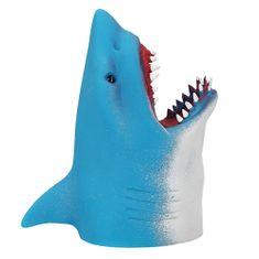 Dino World Glava morskega psa na roki ASST, Azurno modre barve