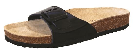 Protetika dámske papuče T80, 42, čierna