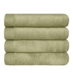 SCANquilt ručník MODAL SOFT olivová