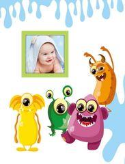 FANDY Album 10x15 300 foto dziecięcy Spookies 1