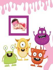 FANDY Fotoalbum 10x15 300 foto 2-up dětské Spookies 2 růžové