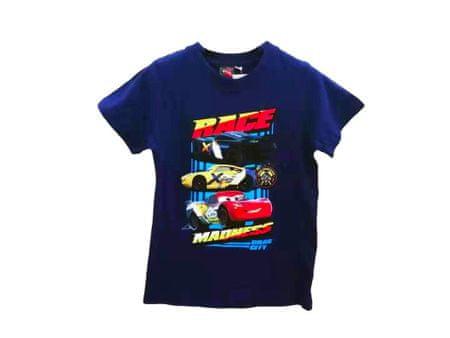 "SETINO Fantovska majica ""Cars Race Madness"" - modra - 92–98 / 2–3 roky"