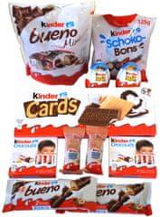 KINDER balíček sladkostí 11ks (628,4g)