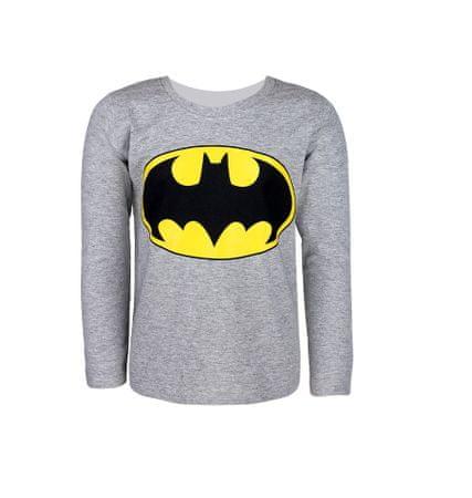 """SETINO Fantovska majica z dolgimi rokavi """"Batman"""" - siva - 146–152 / 11–12 let"""
