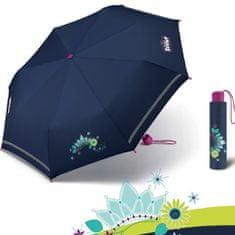 Scout COOL PRINCESS dívčí skládací deštník Barva: Modrá