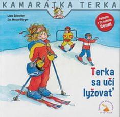 Liane Schneider: Terka sa učí lyžovať