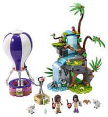 LEGO Friends 41423 Hőlégballonos tigrismentő akció