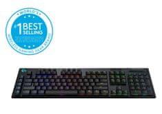 Logitech G915, LIGHTSPEED, GL Linear gaming tipkovnica, US - HRV g.